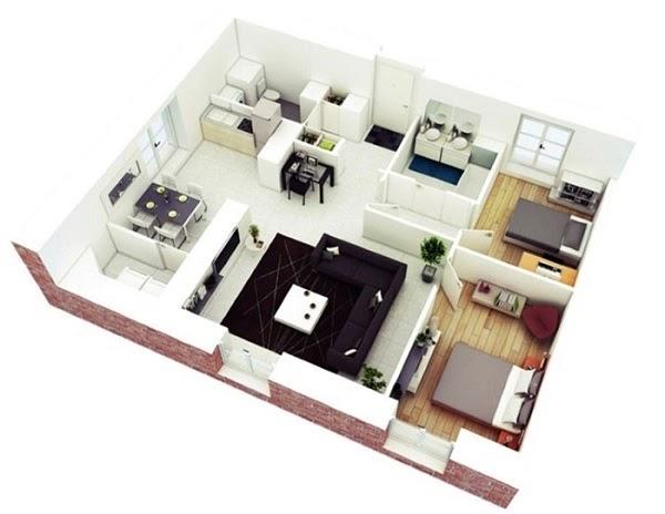 Các mẫu thiết kế chung cư
