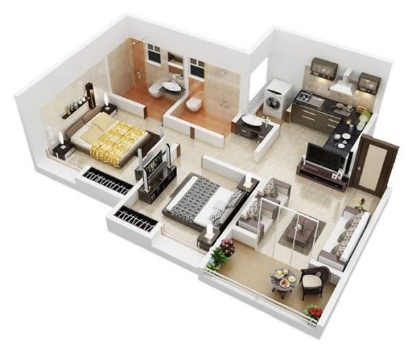 Mẫu thiết kế chung cư hiện đại, cao cấp