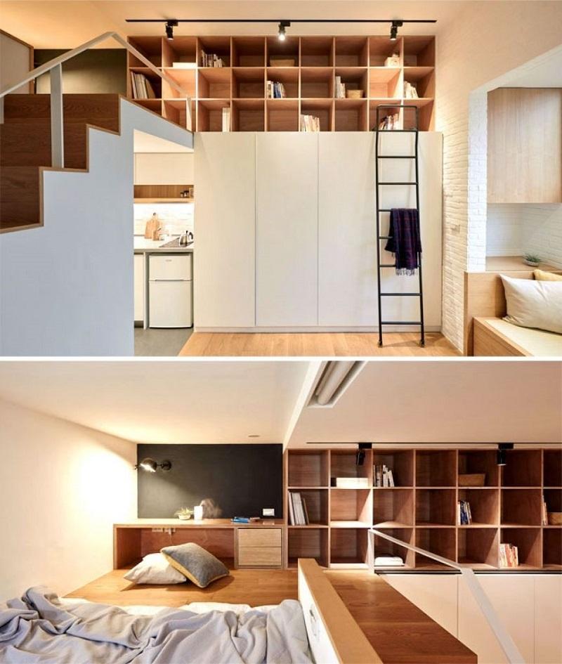 Phân tách biệt rõ rệt trong thiết kế chung cư
