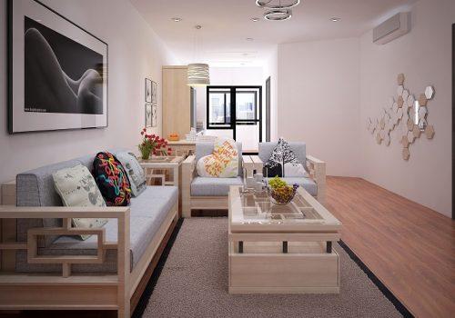 Bày trí chung cư 1 phòng ngủ đẹp, hợp lý