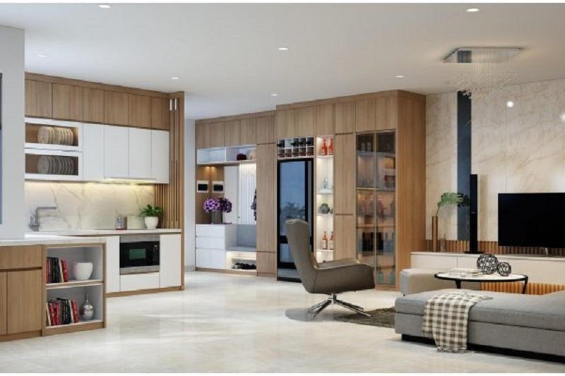 thiết kế nội thất chung cư thẩm mỹ