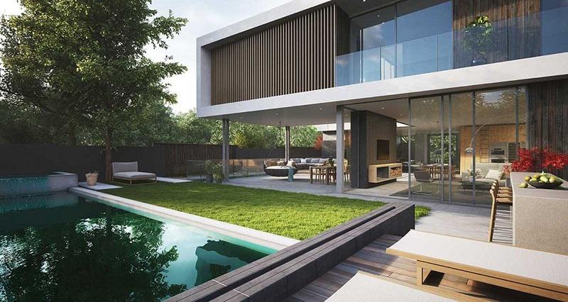 Thiết kế biệt thự không gian mở tiện nghi, hoàn hảo