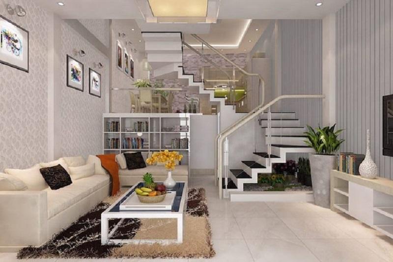 Nguyên tắc thiết kế gác lửng của nhà phố 3 tầng